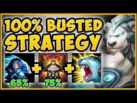 UHH RIOT? VOLI TOP STRAT GIVES +140% MOVEMENT SPEED?? VOLIBEAR S9 TOP GAMEPLAY! - League of Legends thumbnail