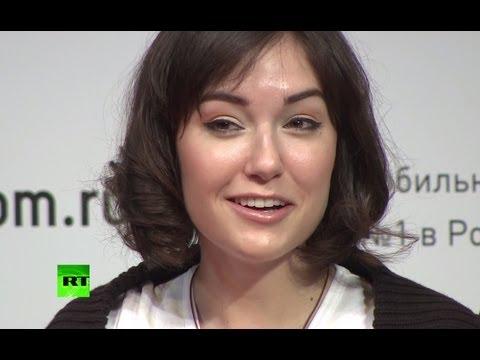 Голая Беркова для конкурса женских достоинств
