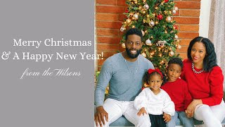 Christmastime is Here | Merry Christmas | Wilson Family