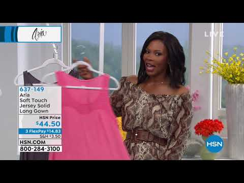 HSN | Aria Sleepwear. http://bit.ly/327kbRO