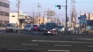 愛知県警・一宮警察署 宮5   緊急走行(現着)