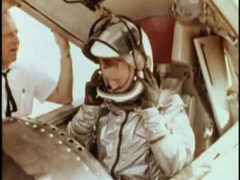 NASA Chief Test Pilot Joe Walker's astronaut flight over Beatty, Nevada