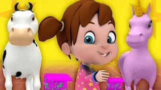 Поп Идет Ласка | детские стишки | Little Treehouse | Pop Goes The Weasel
