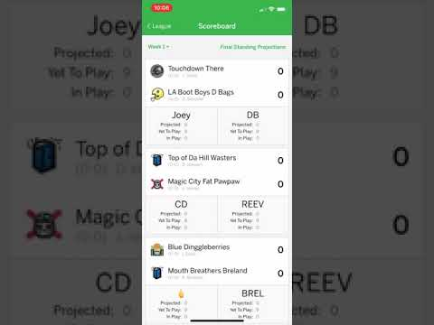 2019 ESPN Fantasy Football App Tutorial