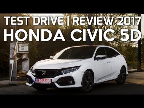 HONDA CIVIC 5D 1.5 VTEC TURBO 182 CP 2017 | TEST DRIVE eblogAUTO