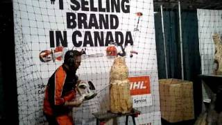 Stihl Chainsaw Wood Carving