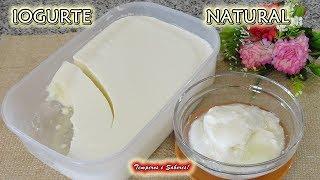 IOGURTE NATURAL com Apenas 2 Ingredientes – Saudável e Super Fácil