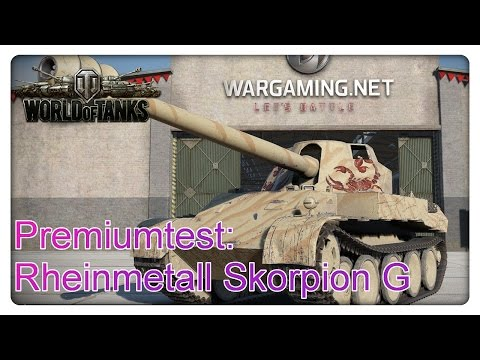 Stiftung Premiumtest: Rheinmetall Skorpion G [World of Tanks - Gameplay - deutsch]