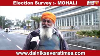 election survey mohali public reaction dainik savera