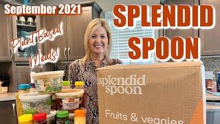 Splendid Spoon   September 2021   Plant Based Meal Service  Fall Flavors!