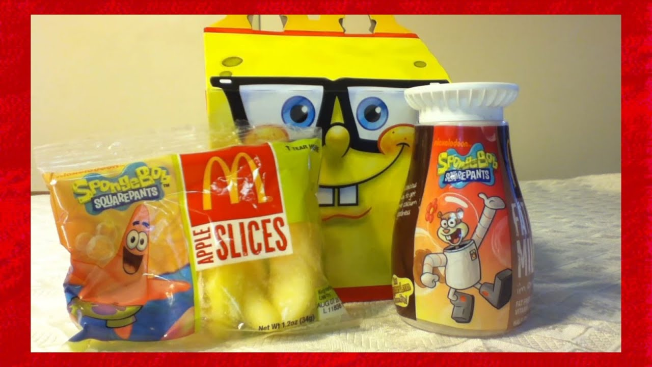 mcdonalds spongebob toys complete set 2012 - YouTube