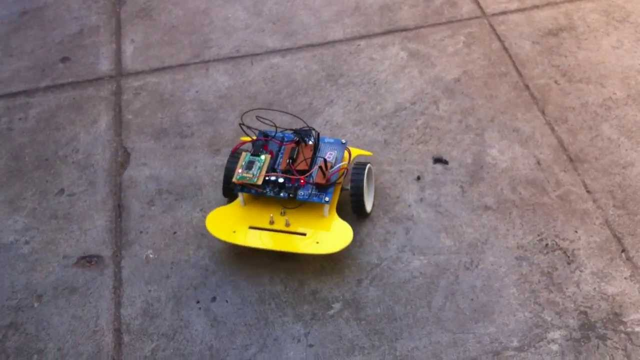 Simple RC car for beginners (Android control via Bluetooth)