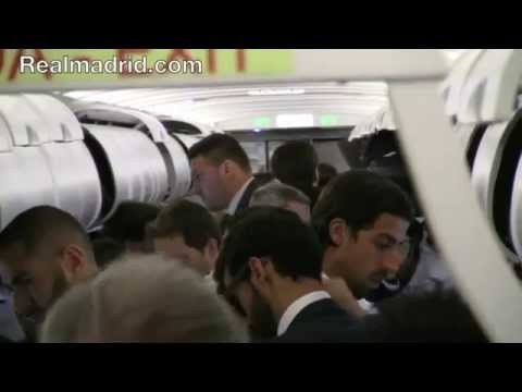 BEHIND THE SCENES: Real Madrid's trip to Liverpool from the inside