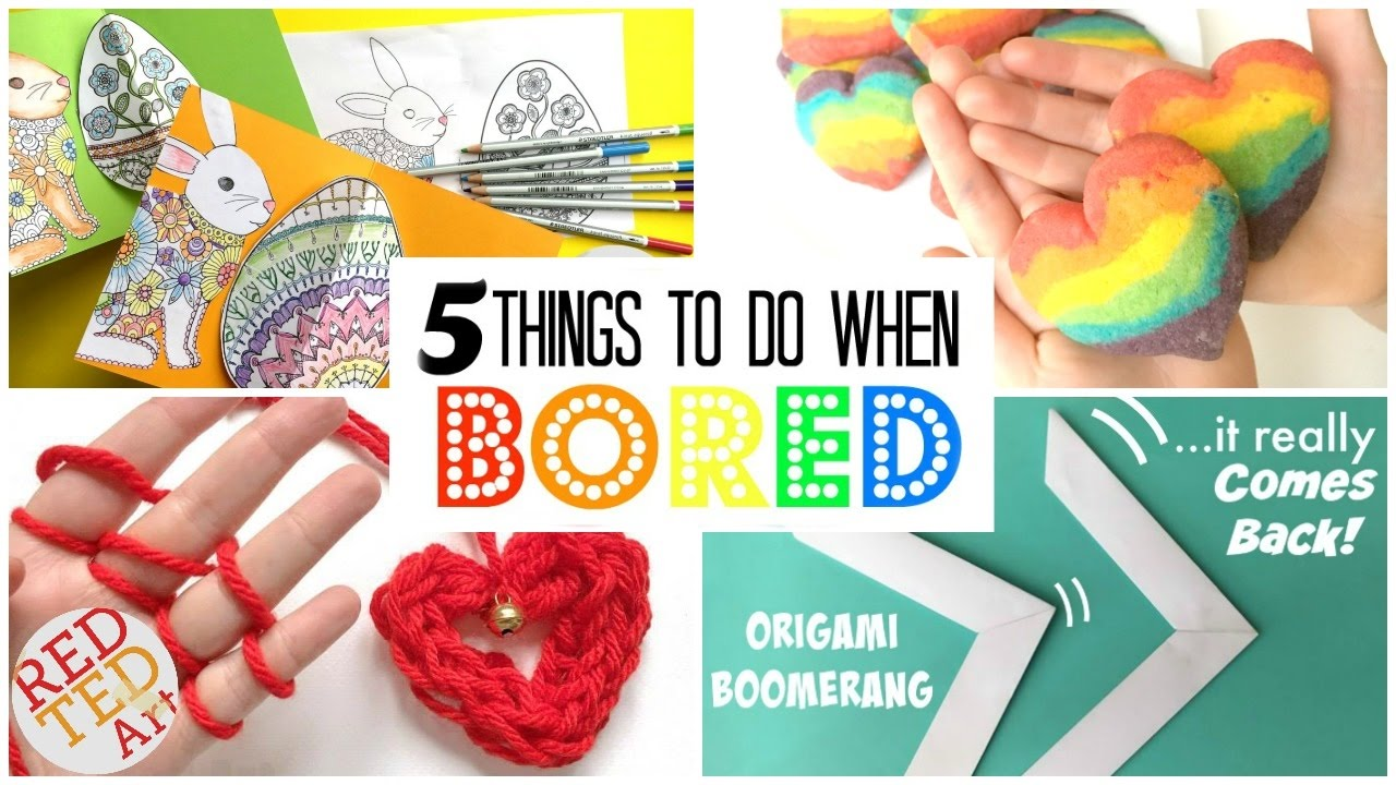 5 great diys things to do when bored diys for boring days inexpensive fun and easy youtube. Black Bedroom Furniture Sets. Home Design Ideas