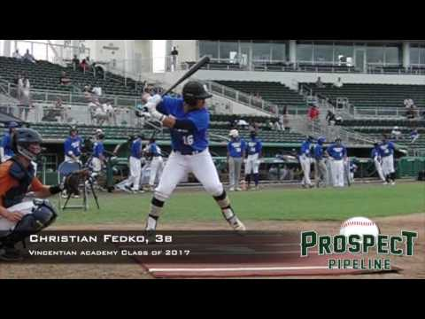 Christian Fedko, 3b, Vincentian Academy, Swing Mechanics at 200 FPS