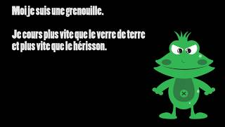 Je cours plus vite que vous- learn french language with story books