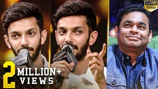 "Breaking - Thalapathy 64, Darbar, Indian 2 & ""Thalaivan thalaivan dhan"" - Anirudh on Rahman"