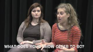 Winter Shows Q&A with Cassie Chapados and Grace Fucci