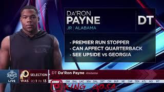 2018 NFL Draft | Alabama Players | 1st Round (HD)