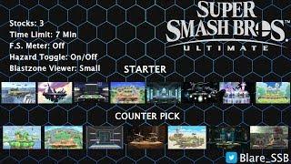 Smash Ultimate Rule Set