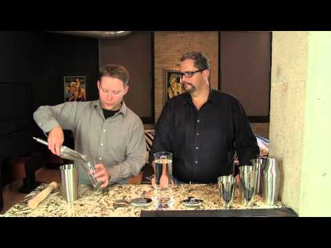 How to use a Boston Shaker: Techniques from the Cocktail Dudes