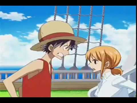One Piece Luffy and Nami Funny and Epic moments LUNA - YouTube