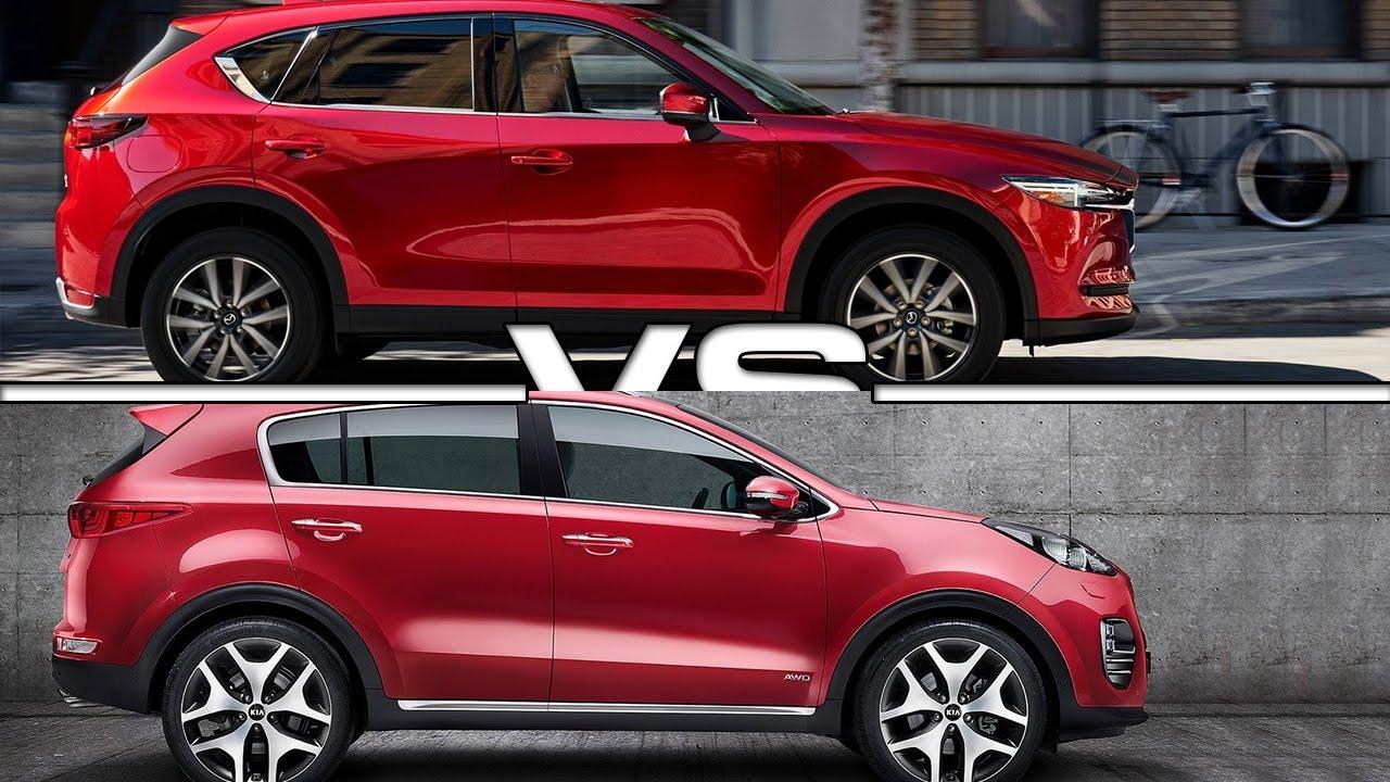 2017 Mazda Cx 5 Vs Kia Sportage