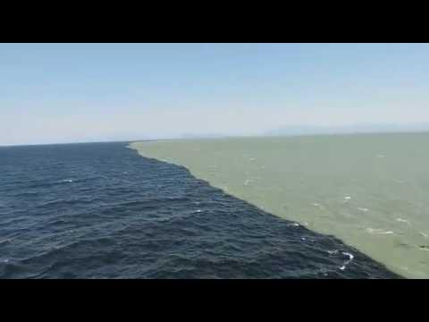 ENCONTRO DO OCEANO ATLANTICO & O PACIFICO UMA GRANDEZA DE DEUS