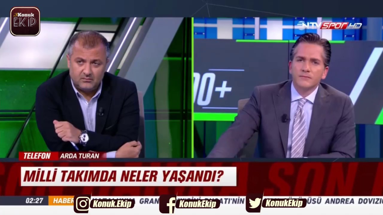 Arda Turan'dan Fatih Terim'e Cevap