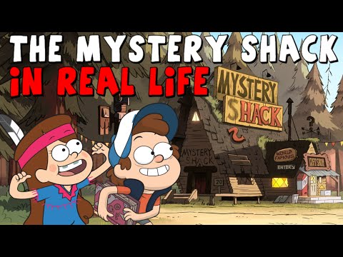 Gravity Falls: The Mystery Shack in Real Life - Gold Hill, Oregon