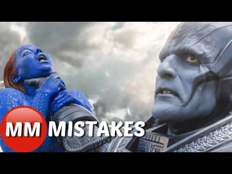 X-Men APOCALYPSE MOVIE MISTAKES You DIDN'T See |   X-Men
