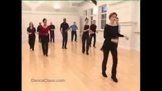 Salsa Basic Back Step to Music - Salsa Class for Beginners 5/22