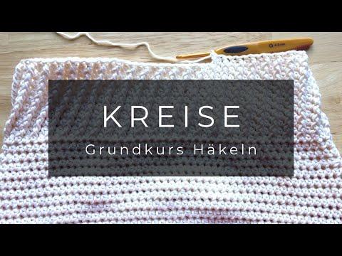 Grundkurs Häkeln Kreis Teller Mit Luftmaschen Youtube