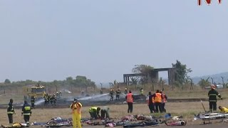 Civil Aviation Authority carries out emergency crash drills at Entebbe airport