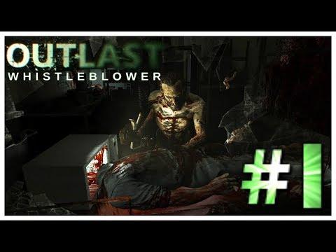 Outlast: Whistleblower Прохождение Часть 1 УЖАСЫ НАЧИНАЮТСЯ (Без комментариев)