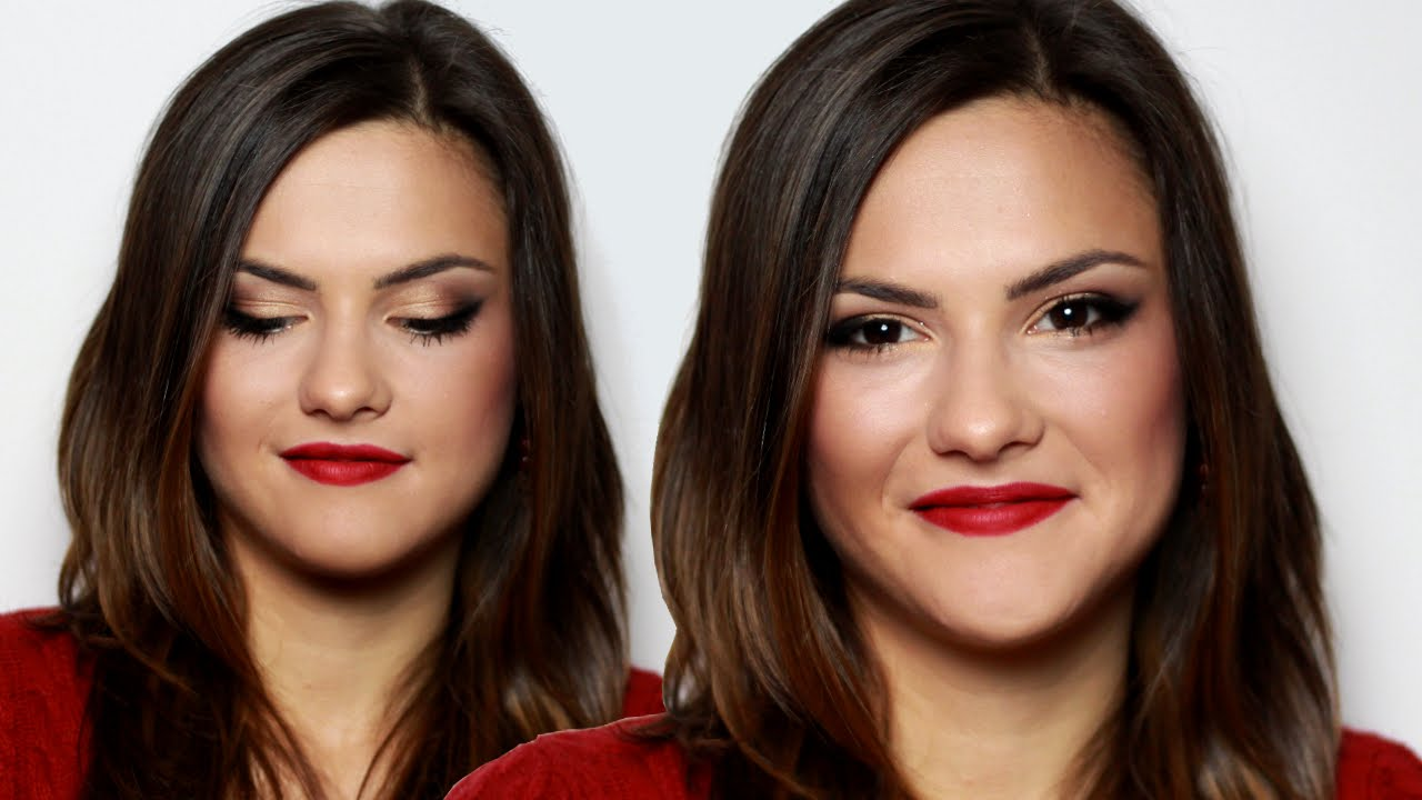 Selena Gomez Cat Eyes Makeup Tutorial Youtube