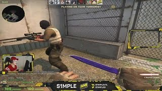 S1mple OWNS NOOBS On RETAKE SERVER?! ★ CS:GO