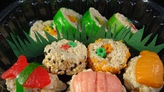 How To Make Candy Sushi  -with Yoyomax12