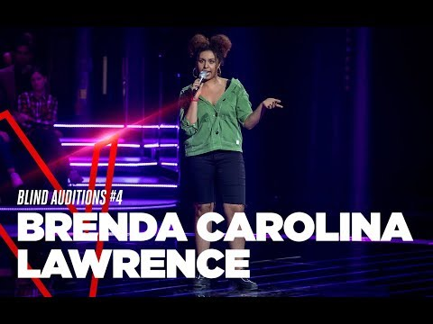 "Brenda Carolina Lawrence  ""Bitch Better Have My Money"" - Blind Auditions #4 - TVOI 2019"