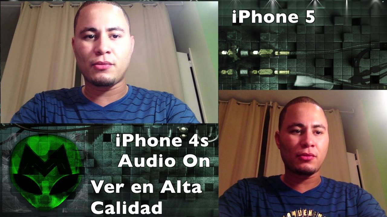 Iphone 5 Vs Iphone 4s Camara Frontal Facetime Youtube