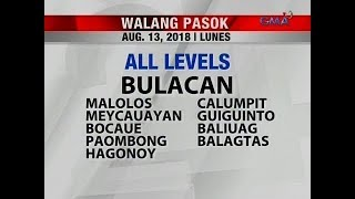 24 Oras: Class suspension (Aug. 13, 2018)