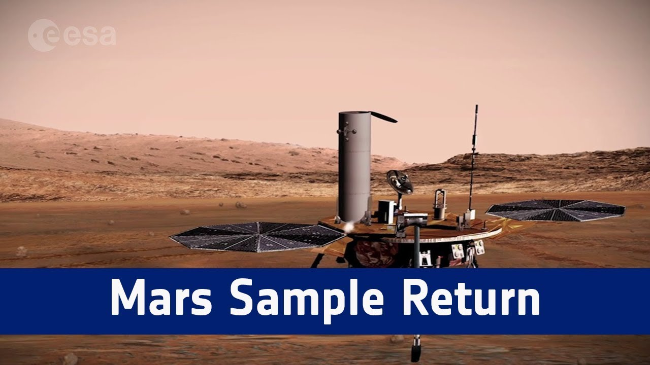 Bringing Mars To Earth  The Plans For a Mars Sample Return