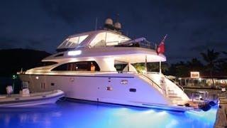 74' Motor Yacht Viaggio. Bvi Luxury Yacht Charters On Motor Yacht Viaggio.