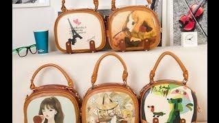 Обзоры товаров с алиэкспресс, интересная сумка с алиэкспресс, сумка из эко-кожи, сумка из Китая