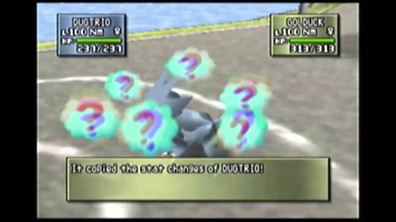 List Pokemon Move Stadium