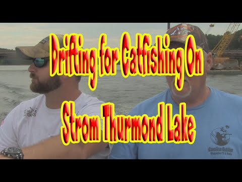 "Catfishing on Strom Thurmond Lake "" Clarks Hill Lake"""