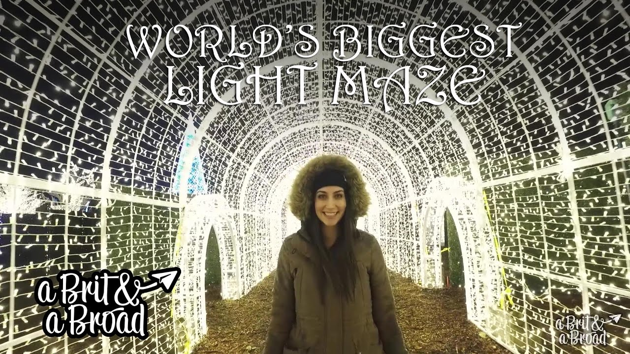 Enchant Christmas.Enchant Christmas Vancouver The World S Biggest Light Maze
