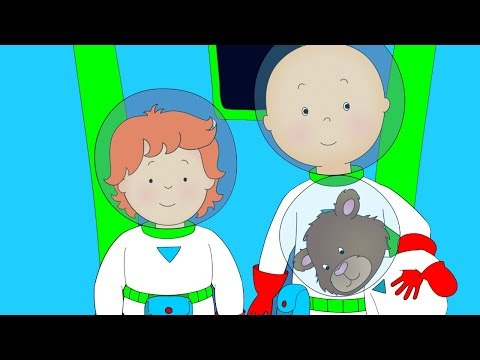 Caillou goes to Space  Funny Animated cartoons Kid  WATCH ONLINE  Cartoon for Children