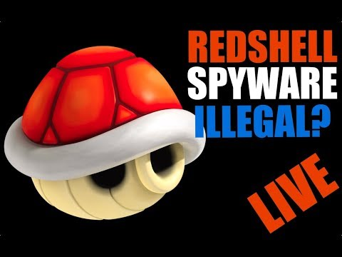 LIVE: Red Shell Spyware ... Is it Legal to Install in Your Game?