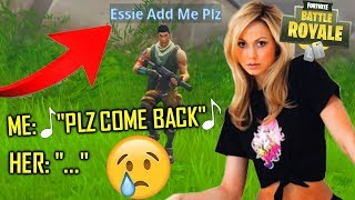 THE SADDEST FORTNITE LOVE STORY EVER *MUST WATCH* - THE LAST TRY TO GET MY FORTNITE GIRLFRIEND BACK